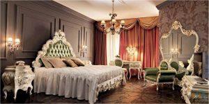 غرفة نوم ورق الشجر