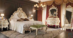 غرف نوم ورق الشجر