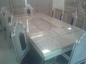 غرفة طعام صدف مغربى